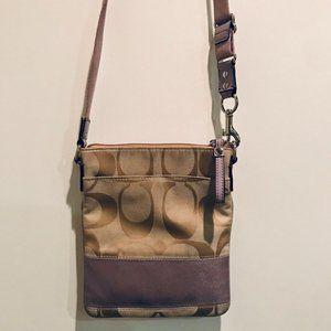 Lilac Coach Crossbody Bag